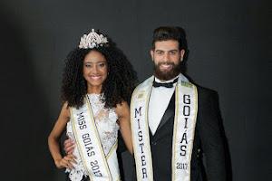 Adriana Benício e Helder Aquino são eleitos Miss e Mister Goiás 2017