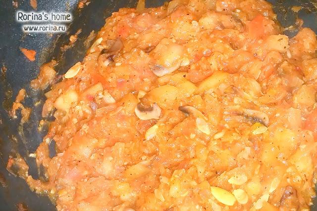 Как приготовить начинку для фаршированных кабачков?