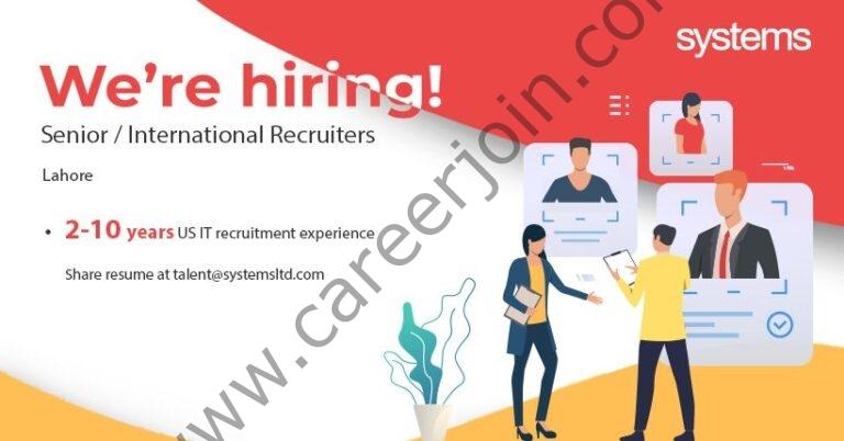 talent@systemsltd.com - Systems Limited Jobs 2021 in Pakistan