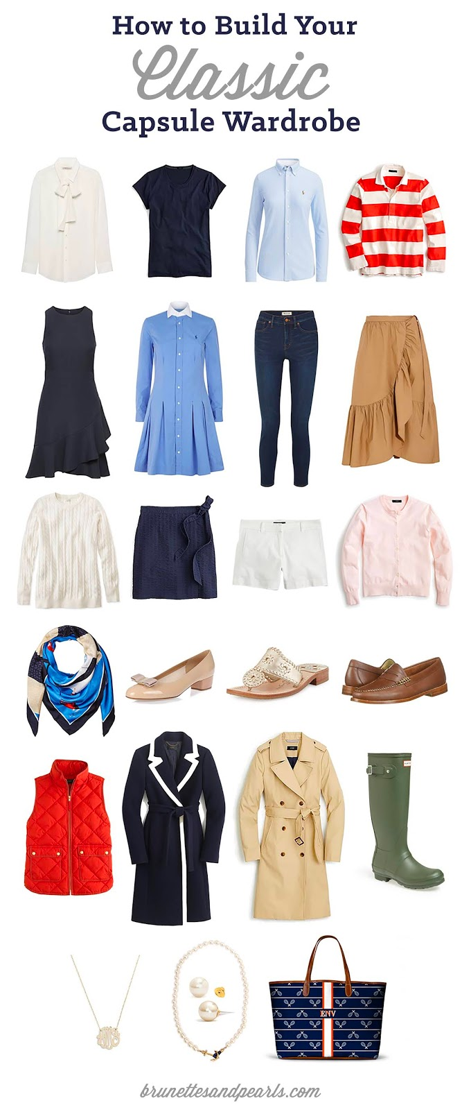 How to functional build and fashionable wardrobe