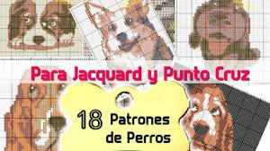18 Patrones Crochet de Perros para Punto Cruz  🐶