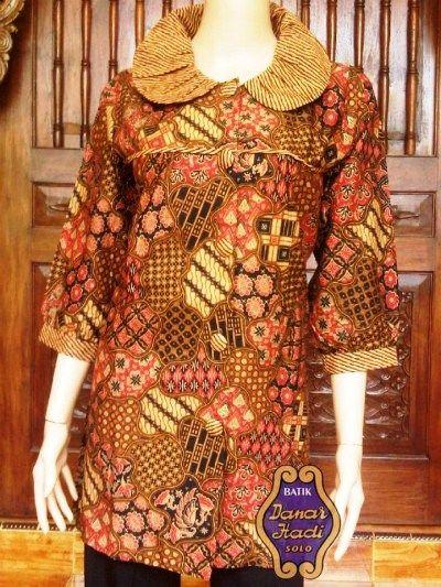 26 model baju batik kerja wanita danar hadi amp untuk