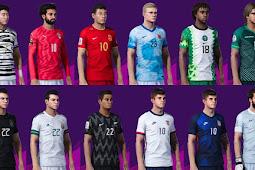 NEW National Teams Kitpack 2020/21 V3 AIO - PES 2020