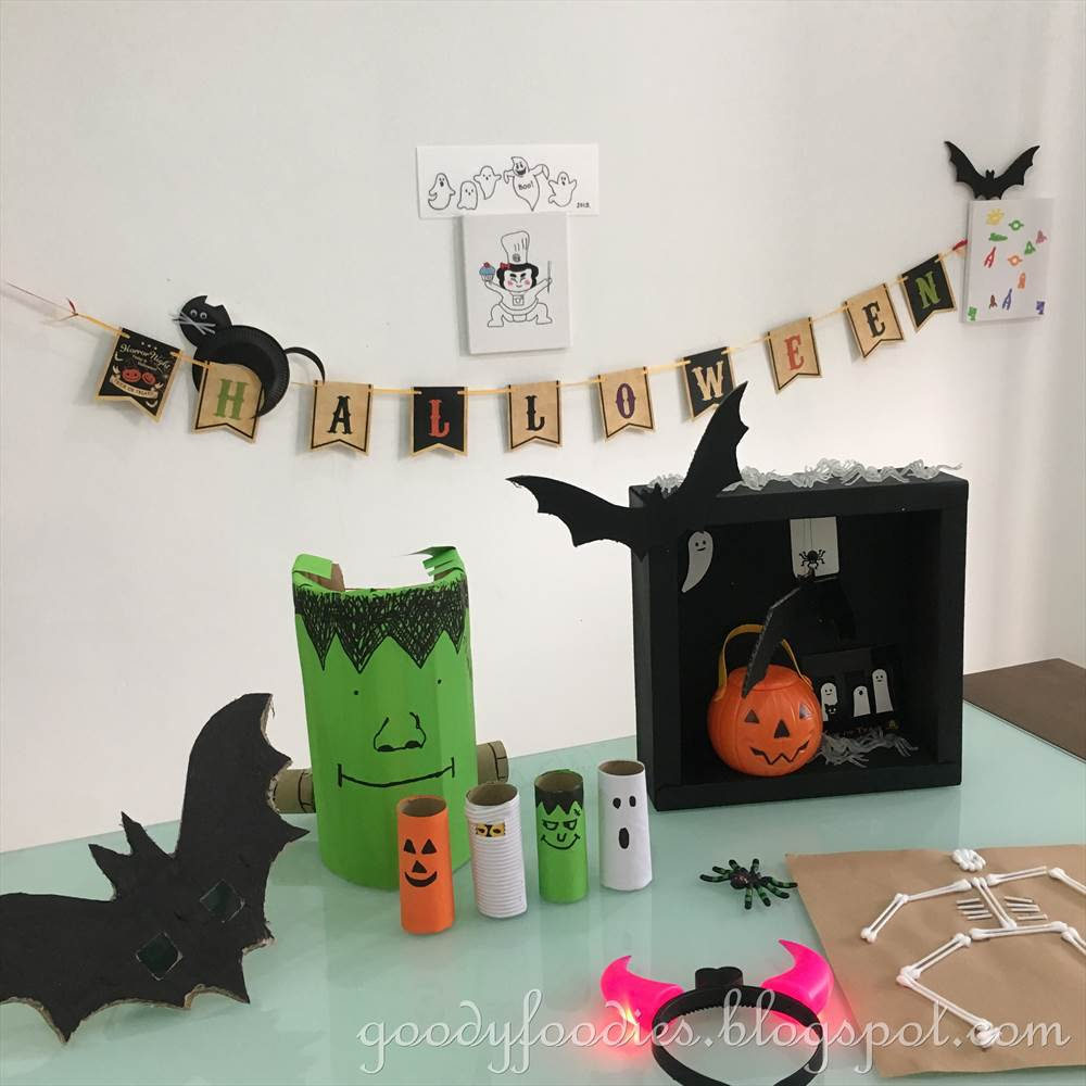 Halloween Crafts And Decorations: GoodyFoodies: 5 Fun Halloween Crafts To Do With Your Kids