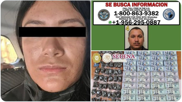"""Capturan en la CDMX a la Michoacana """"Lesly Valencia"""" operadora del Cártel del Golfo"""