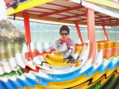 perahu danau Patengan
