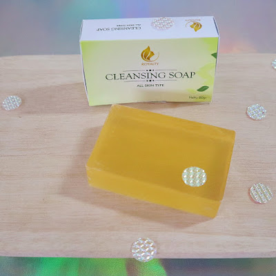 Royalty Cosmetics cleansing soap