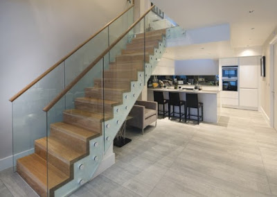 Townhouse Design near London stair