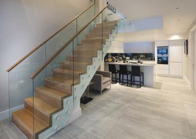 Townhouse Design near London stair