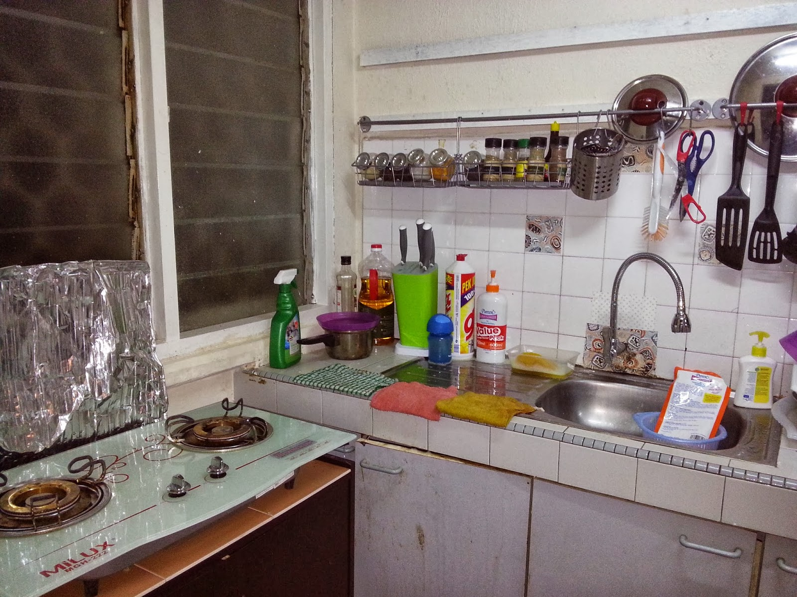 Ni Gambar Lama Tadi Tak Sampai Ati Nak Snap Dapur Selekeh Bukan Sikit Punya