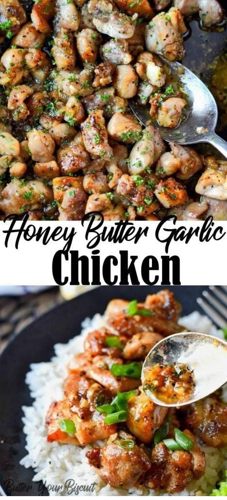 Honey Butter Garlic Chicken