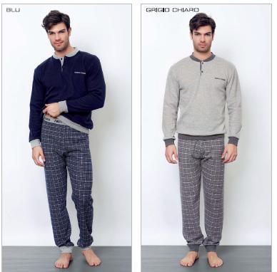 piżama_męska_włoska_bielizna_enrico-coveri_rzymskie_zakupy
