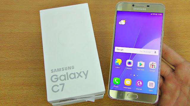 تسريبات من سامسونج حول هاتف Galaxy C7 Pro
