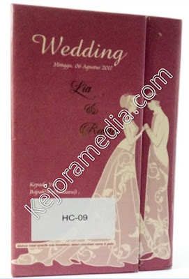 undangan pernikahan hardcover mewah indramayu brebes