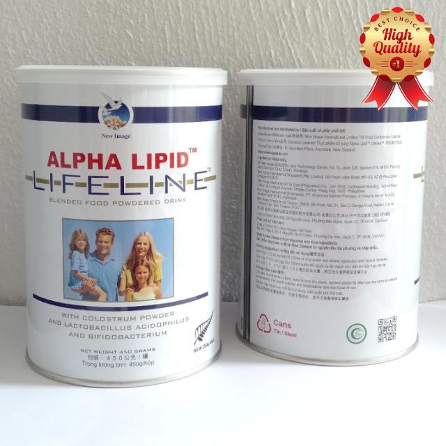 SẢN PHẨM ALPHA LIPID™ LIFELINE™