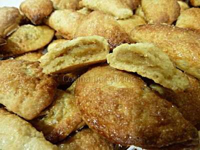pastissets (pastelitos) de boniato
