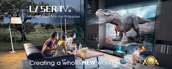 Hisense 100L10E 4K Laser TV