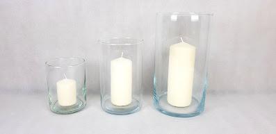 szklane tuby na świece wypożyczalnia dekoracji rzeszów ślubnażyczenie