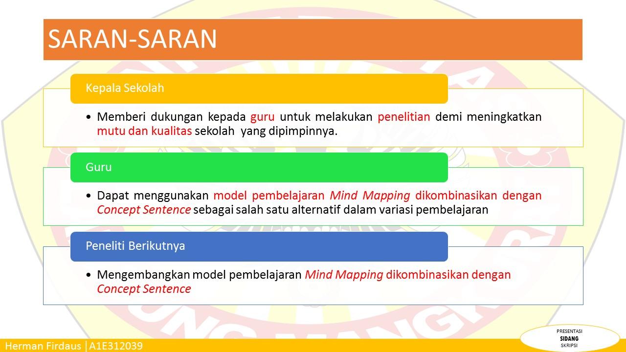 Contoh Powerpoint Laporan Skripsi Keren Dan Menarik Blog Barabai