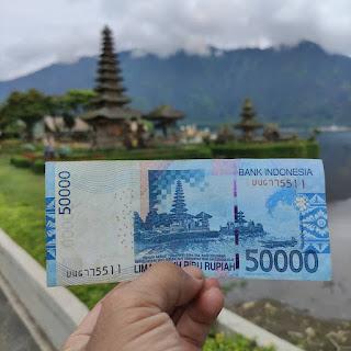 gambar lokasi dibalik uang Rp 50.000