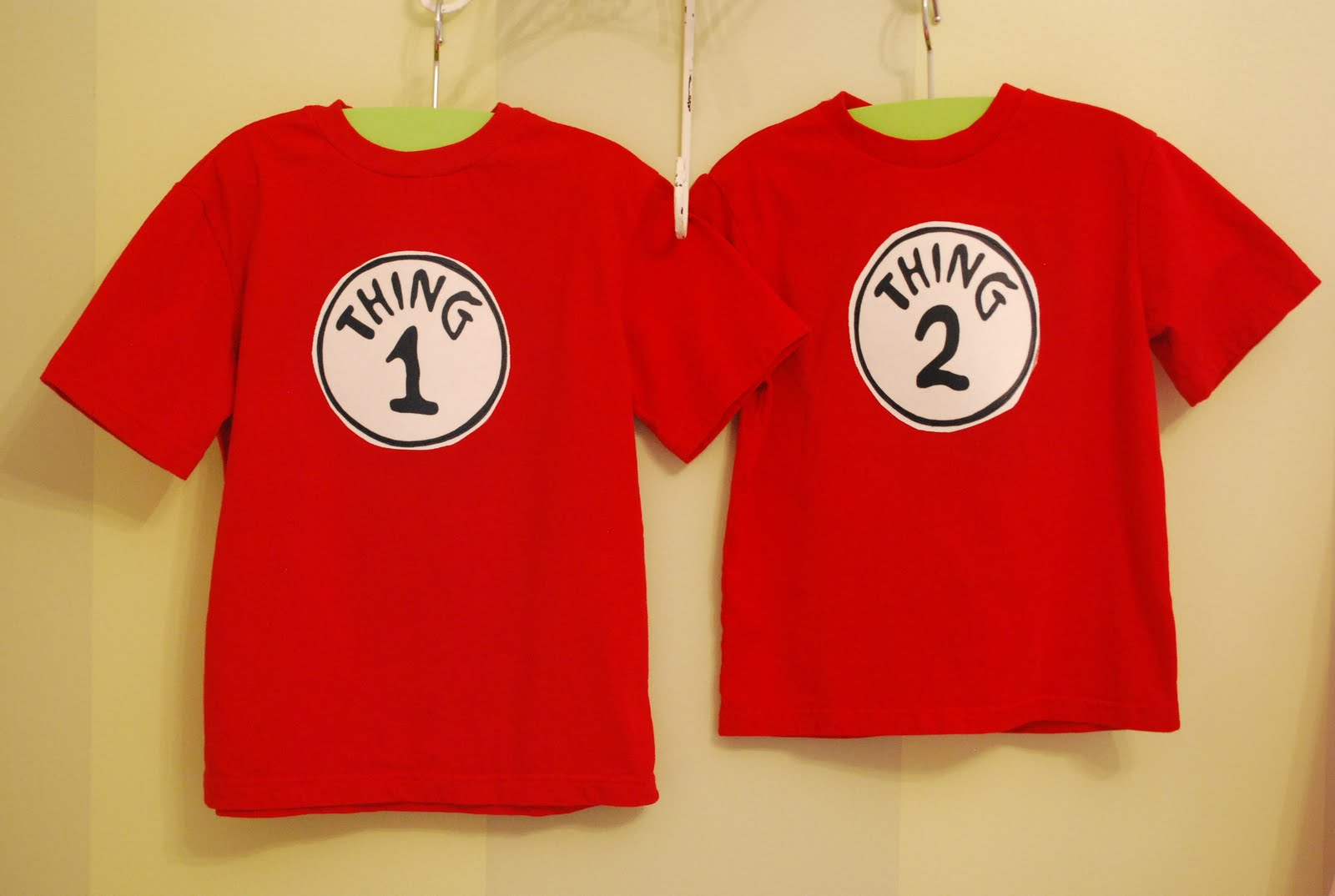 Fussy Monkey Business Dr Seuss 39 Thing 1 Thing 2 Shirts