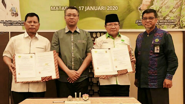 HKTI NTB dan Pemkab Lotim Jalin Kerjasama Pengelolaan Bawang Putih