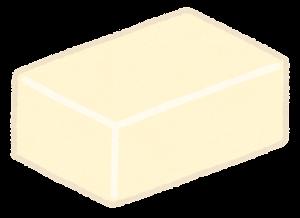 四角いチーズ・バターのイラスト3