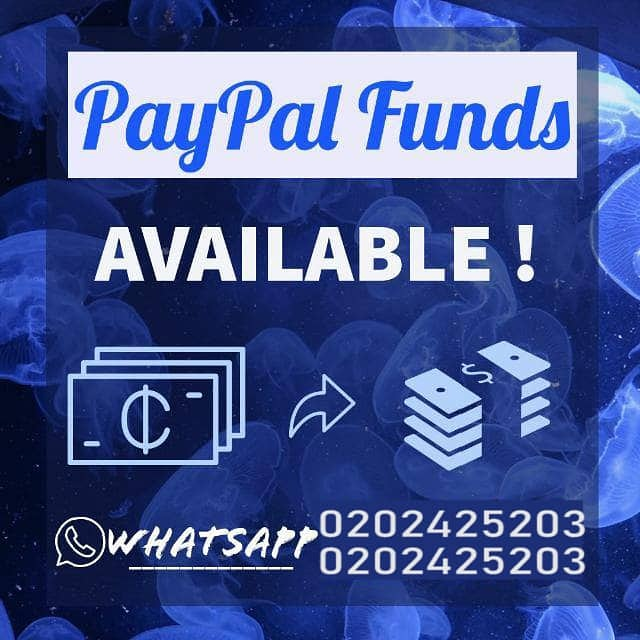 PAYPAL FUND AVAILABLE AT CHEAPER RATE
