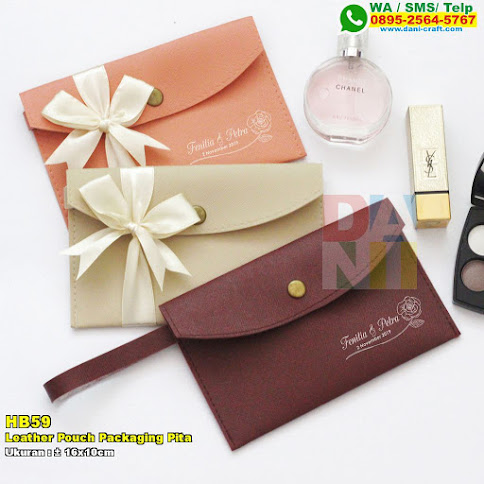 Leather Pouch Packaging Pita