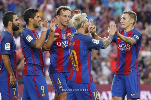 اهداف برشلونة وسامبدوريا