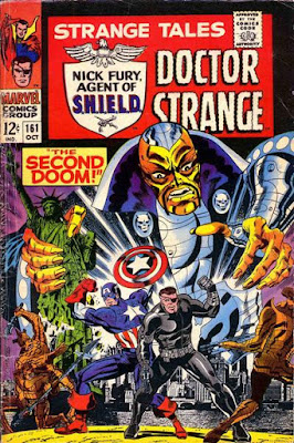 Strange Tales #161, Captain America and Nick Fury