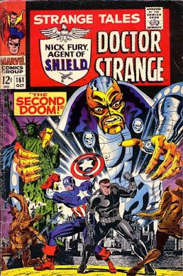 Strange Tales #161, Captain America and Nick Fury