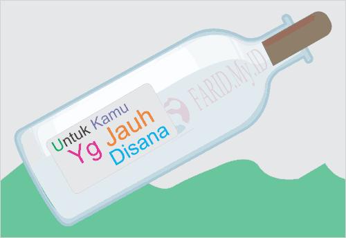 Kisah Sepucuk Surat dalam Botol