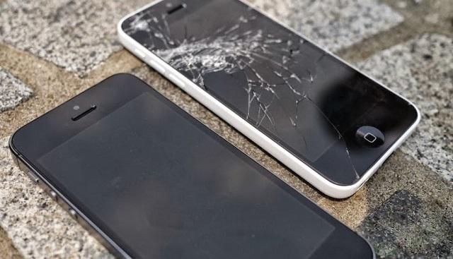 thay mat kinh iphone 5 5s