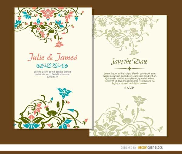 vector-wedding-card-template