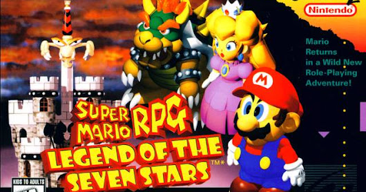 Super Mario RPG: 1º Colocado na Wii U eShop