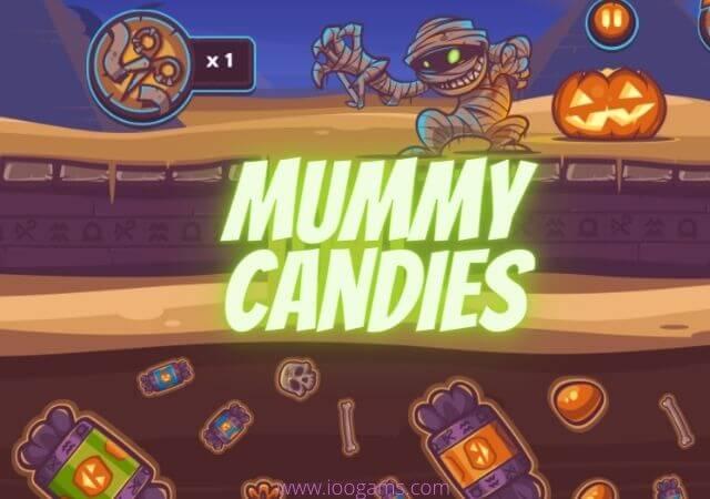 Free Mummy Candies game - ioogams.com