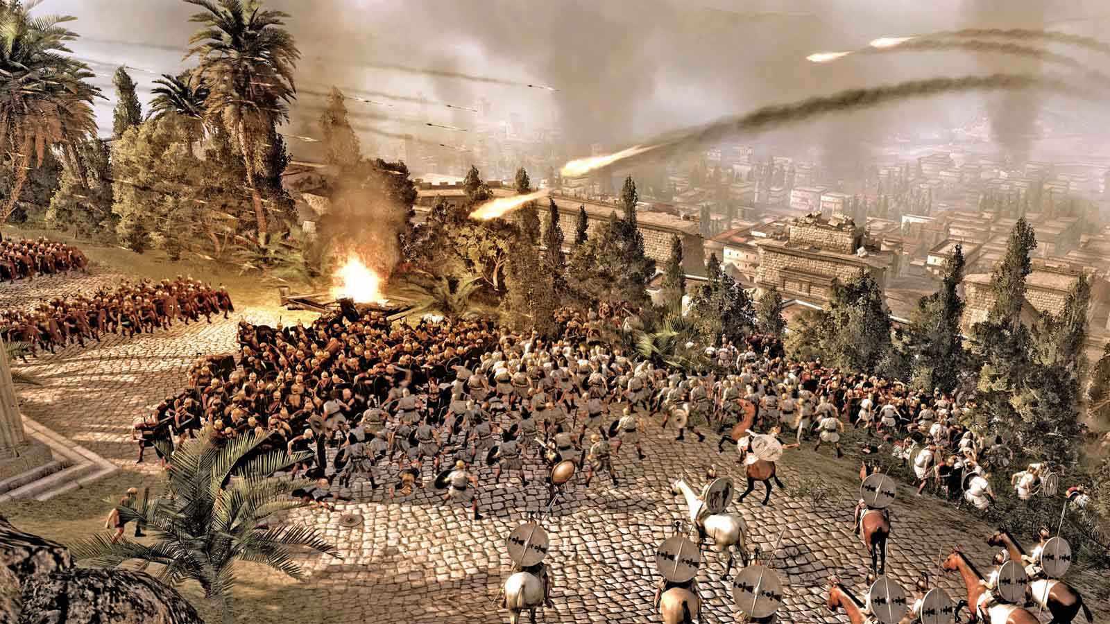 تحميل لعبة Total War Rome 2 مضغوطة كاملة بروابط مباشرة مجانا
