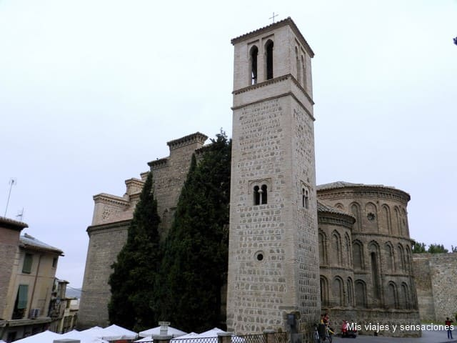 Iglesia de Santiago del Arrabal, ruta islámica, Toledo