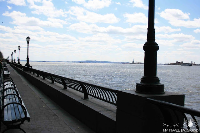 My Travel Background : Battery Park, New York