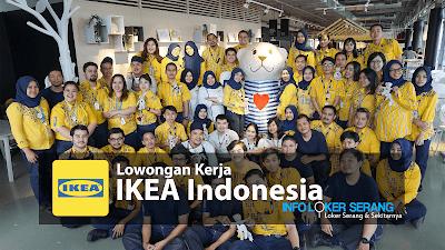 Lowongan Kerja IKEA Indonesia Penempatan Alam Sutera Tangerang