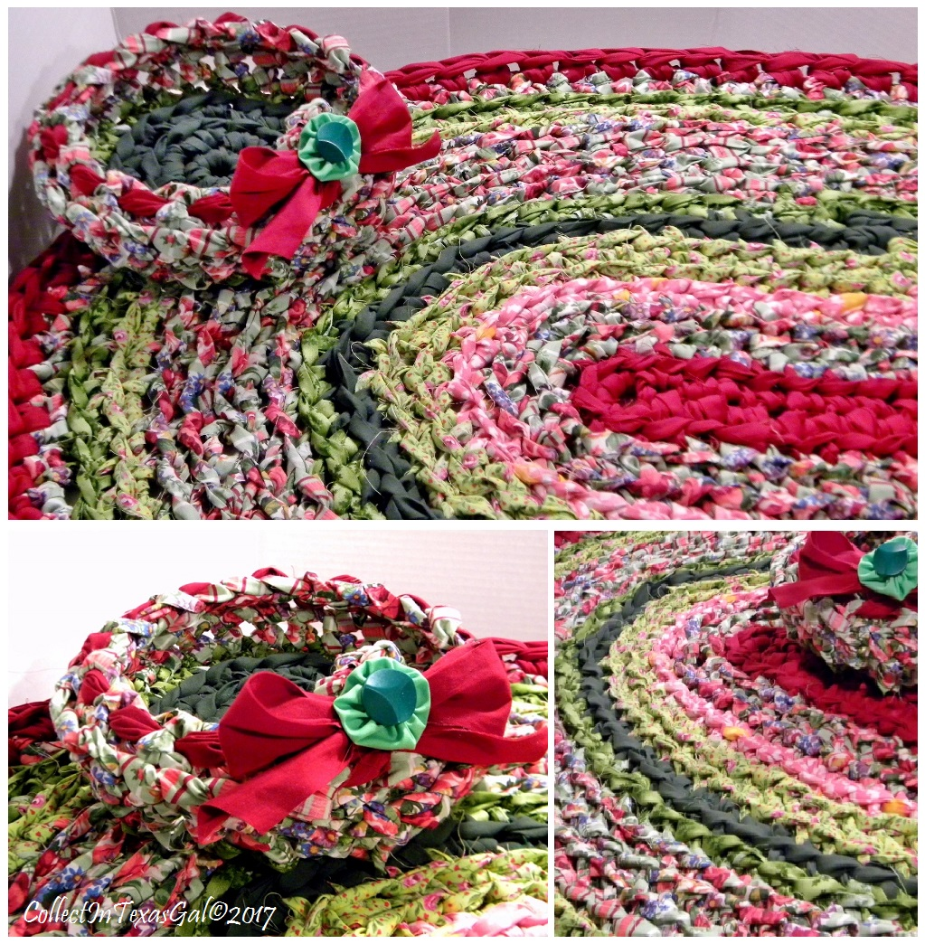 CollectIn Texas Gal: Round And Oval Rag Rugs And Baskets Show