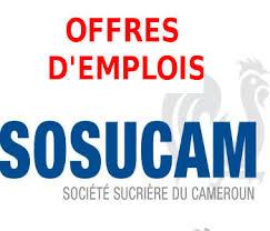 Société_Sucrière_du_Cameroun_(SOSUCAM)_recrute_!