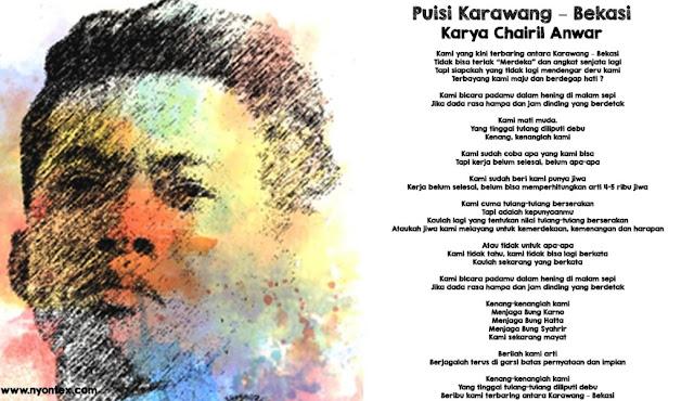 Karawang-Bekasi Karya Chairil Anwar