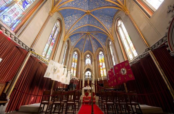 Capilla de Cristo (Castillo Hohenzollern, Alemania)