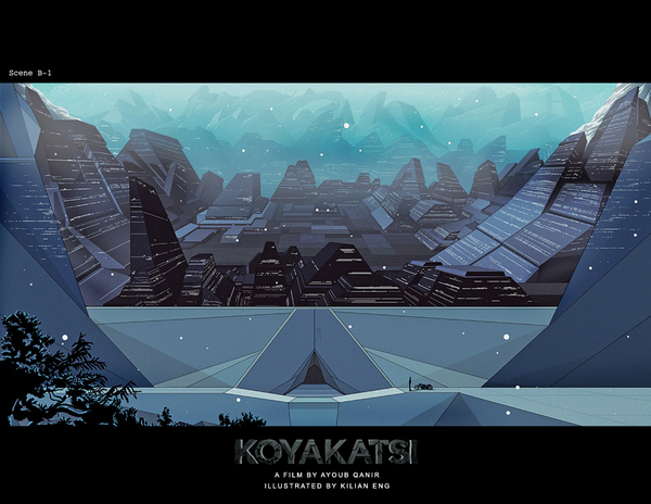 Koyakatsi: The Movie. Trailer. Ayoub Qanir (Killian Eng. Concept Illustration)