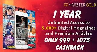 Magzter Gold 1 Year Subscription 999 Offers ki Jankari