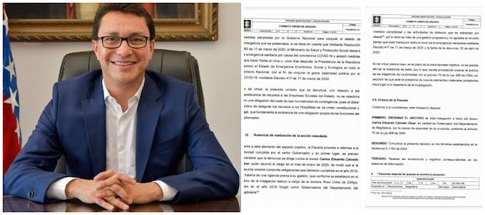 Justicia resuelve a favor del Gobernador Caicedo y responsabiliza a la anterior administración de no asegurar dinero de Hospitales
