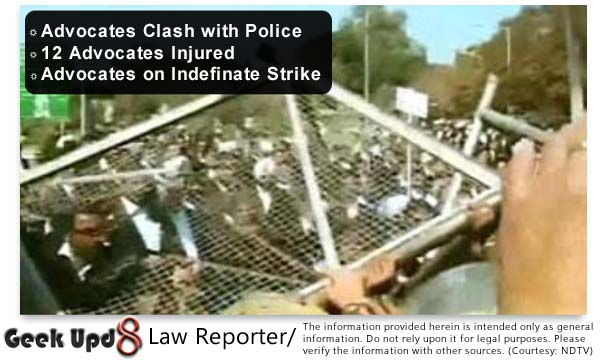 Advocates on Strike in Punjab, Haryana and Chandigarh; 12 Advocates Injured in Police LathiCharge