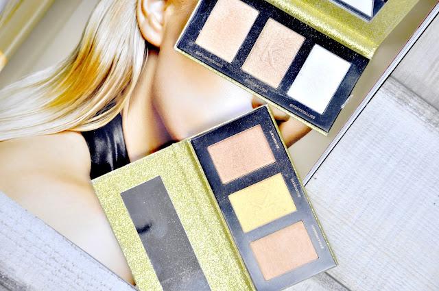 paletka rozświetaczy makeup revolution x kitulec #glowkitulca